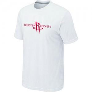 Tee-Shirt NBA Houston Rockets Big & Tall Blanc - Homme