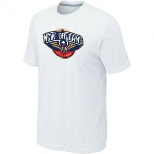 New Orleans Pelicans Big & Tall Tee-Shirt d'équipe de NBA - Blanc pour Homme