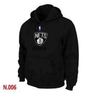 Pullover Sweat Brooklyn Nets NBA Noir - Homme
