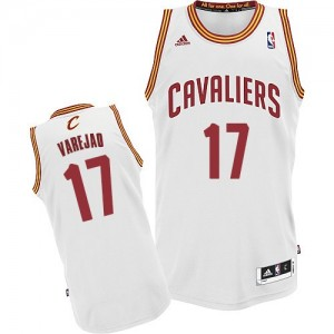Maillot NBA Cleveland Cavaliers #17 Anderson Varejao Blanc Adidas Swingman Home - Homme