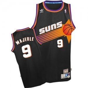 Maillot Authentic Phoenix Suns NBA Throwback Noir - #9 Dan Majerle - Homme