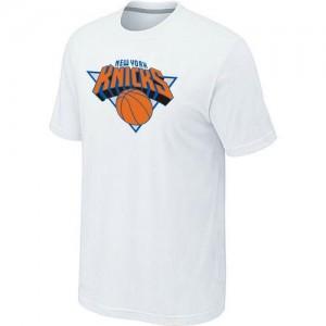 T-shirt principal de logo New York Knicks NBA Big & Tall Blanc - Homme