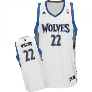Maillot NBA Swingman Andrew Wiggins #22 Minnesota Timberwolves Home Blanc - Homme