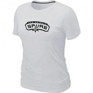 San Antonio Spurs Big & Tall Blanc Tee-Shirt d'équipe de NBA Soldes discount - pour Femme