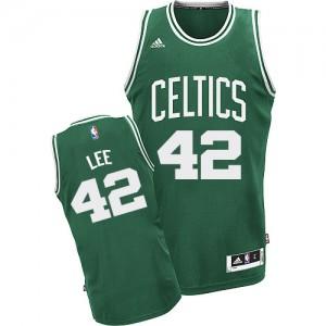 Maillot Swingman Boston Celtics NBA Road Vert (No Blanc) - #42 David Lee - Enfants