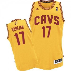 Maillot Swingman Cleveland Cavaliers NBA Alternate Or - #17 Anderson Varejao - Homme