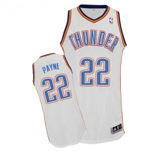 Maillot NBA Authentic Cameron Payne #22 Oklahoma City Thunder Home Blanc - Homme