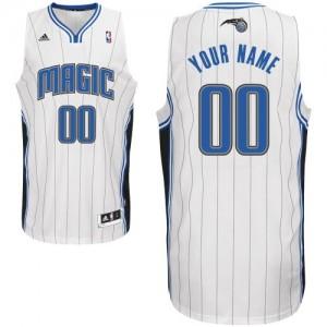 Maillot Adidas Blanc Home Orlando Magic - Swingman Personnalisé - Homme
