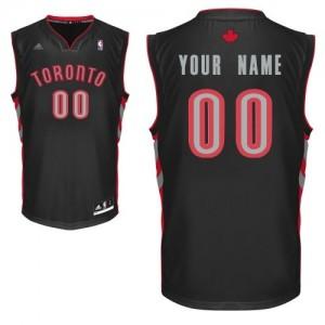 Maillot NBA Noir Swingman Personnalisé Toronto Raptors Alternate Homme Adidas