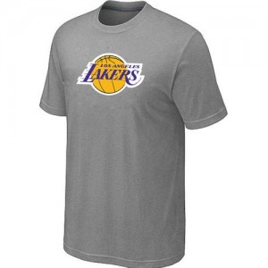 Tee-Shirt NBA Los Angeles Lakers Big & Tall Gris - Homme