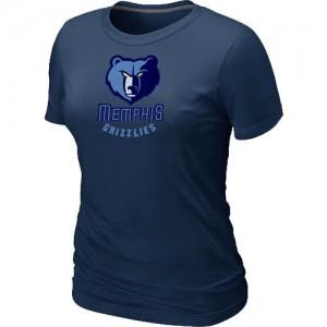 Tee-Shirt NBA Memphis Grizzlies Marine Big & Tall - Femme