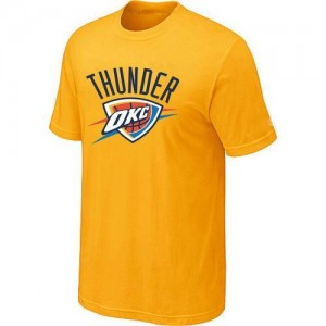 Tee-Shirt NBA Oklahoma City Thunder Big & Tall Jaune - Homme