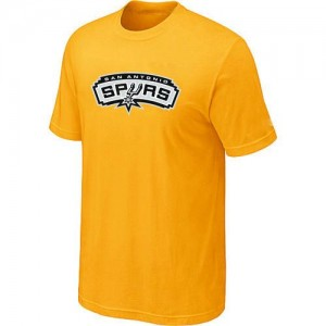Tee-Shirt NBA San Antonio Spurs Big & Tall Jaune - Homme