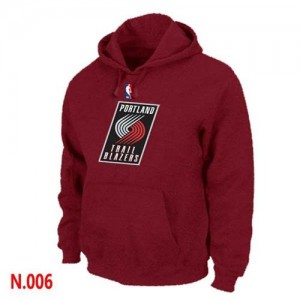 Sweat Rouge Portland Trail Blazers - Homme