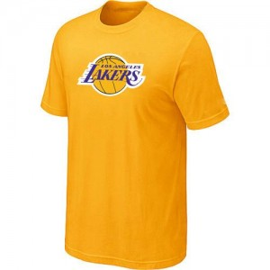 Tee-Shirt NBA Los Angeles Lakers Jaune Big & Tall - Homme