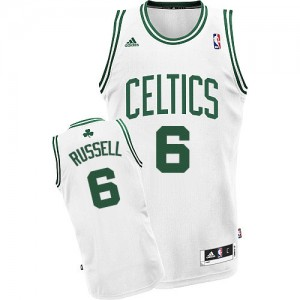 Maillot Swingman Boston Celtics NBA Home Blanc - #6 Bill Russell - Homme