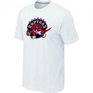 T-shirt principal de logo Toronto Raptors NBA Big & Tall Blanc - Homme