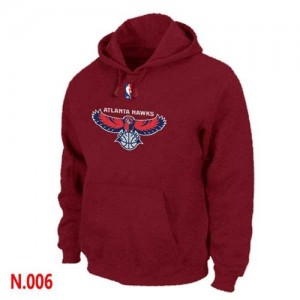 Pullover Sweat Atlanta Hawks NBA Rouge - Homme
