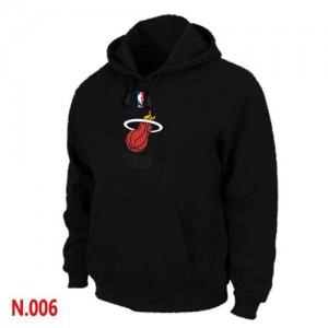 Sweat Noir Miami Heat - Homme