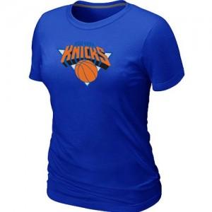 Tee-Shirt Bleu Big & Tall New York Knicks - Femme