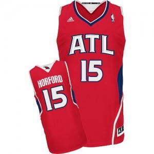 Atlanta Hawks Al Horford #15 Alternate Swingman Maillot d'équipe de NBA - Rouge pour Homme