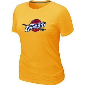 Tee-Shirt Jaune Big & Tall Cleveland Cavaliers - Femme