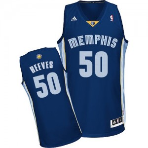 Maillot Adidas Bleu marin Road Swingman Memphis Grizzlies - Bryant Reeves #50 - Homme
