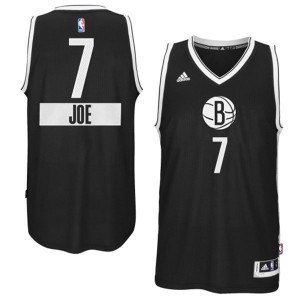 Maillot NBA Swingman Joe Johnson #7 Brooklyn Nets 2014-15 Christmas Day Noir - Homme