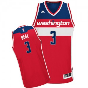 Maillot Adidas Rouge Road Swingman Washington Wizards - Bradley Beal #3 - Homme
