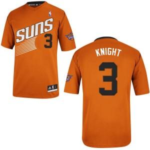 Phoenix Suns Brandon Knight #3 Alternate Swingman Maillot d'équipe de NBA - Orange pour Homme