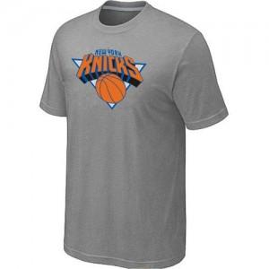 Tee-Shirt Gris Big & Tall New York Knicks - Homme