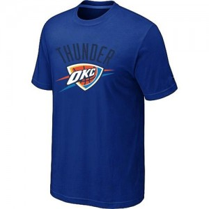 T-shirt principal de logo Oklahoma City Thunder NBA Big & Tall Bleu - Homme