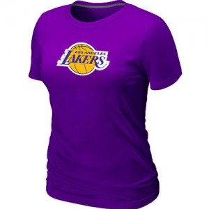 Tee-Shirt Violet Big & Tall Los Angeles Lakers - Femme