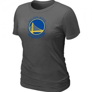 Tee-Shirt Gris foncé Big & Tall Golden State Warriors - Femme