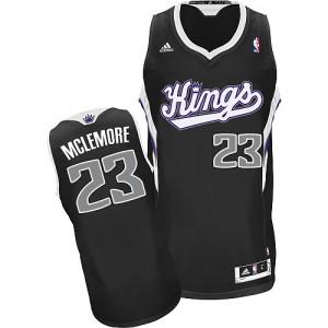 Sacramento Kings #23 Adidas Alternate Noir Swingman Maillot d'équipe de NBA prix d'usine en ligne - Ben McLemore pour Homme
