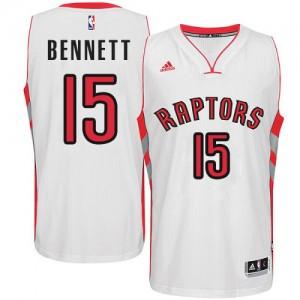Toronto Raptors Anthony Bennett #15 Home Swingman Maillot d'équipe de NBA - Blanc pour Homme