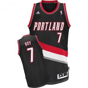 Portland Trail Blazers Brandon Roy #7 Road Swingman Maillot d'équipe de NBA - Noir pour Homme