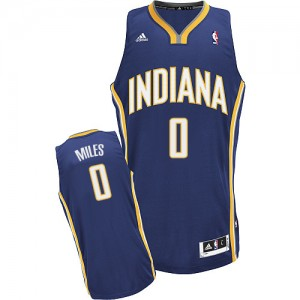 Maillot NBA Swingman C.J. Miles #0 Indiana Pacers Road Bleu marin - Homme