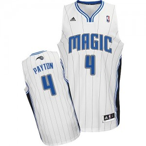 Maillot NBA Blanc Elfrid Payton #4 Orlando Magic Home Swingman Homme Adidas
