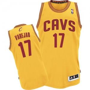 Cleveland Cavaliers Anderson Varejao #17 Alternate Authentic Maillot d'équipe de NBA - Or pour Homme