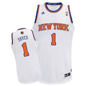 Maillot NBA Swingman Alexey Shved #1 New York Knicks Home Blanc - Homme