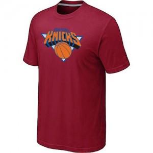 Tee-Shirt NBA Rouge New York Knicks Big & Tall Homme