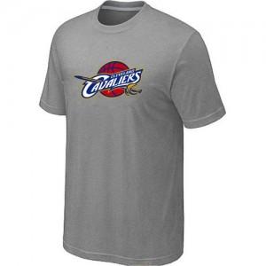 Cleveland Cavaliers Big & Tall Gris Tee-Shirt d'équipe de NBA en ligne pas chers - pour Homme