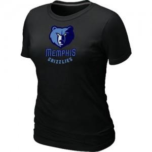 Tee-Shirt Noir Big & Tall Memphis Grizzlies - Femme
