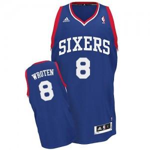Maillot NBA Bleu royal Tony Wroten #8 Philadelphia 76ers Alternate Swingman Homme Adidas