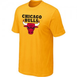 Chicago Bulls Big & Tall Jaune Tee-Shirt d'équipe de NBA Remise - pour Homme