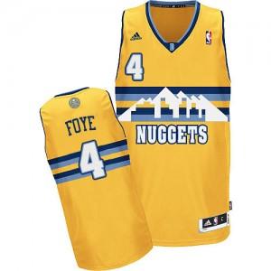 Maillot NBA Or Randy Foye #4 Denver Nuggets Alternate Swingman Homme Adidas