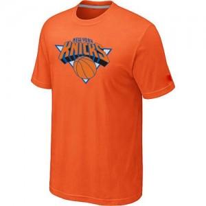 New York Knicks Big & Tall Tee-Shirt d'équipe de NBA - Orange pour Homme