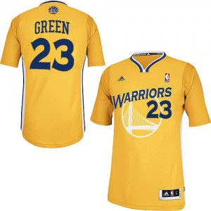 Maillot NBA Or Draymond Green #23 Golden State Warriors Alternate Swingman Homme Adidas