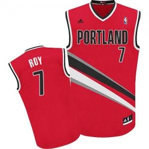 Portland Trail Blazers Brandon Roy #7 Alternate Swingman Maillot d'équipe de NBA - Rouge pour Homme